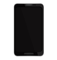 A mobile phone black eps10 vector