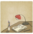Education old background vector