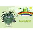 Conserve the earth vector
