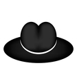 Black hat vector