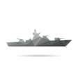 Ship abstract isolated vector