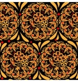 The traditional russian floral seamless background vector