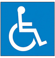 International symbol of access vector
