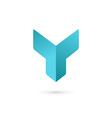 Letter y logo icon design template elements vector