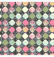 Geometric seamless pattern background retro style vector