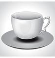 Tea coffee cup vector