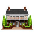A beautiful house vector