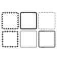 Set of frames - squares vector