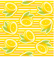 Lemon wallpaper vector
