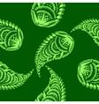 Seamless pattern paisley vector