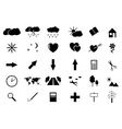 Set of small icons vector