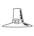 Pilgrim farm cartoon vector