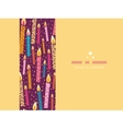 Colorful birthday candles horizontal seamless vector