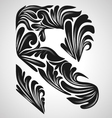 R calligraphic element vector