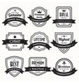 Retro vintage badges vector