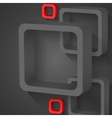 Abstract gray squares vector
