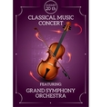Classic music poster vector