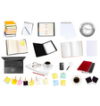 Collection of business elements copy vector