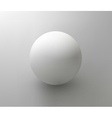 Plastic ball element for design vector