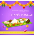 Happy pongal vector