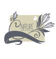Nature banner vector