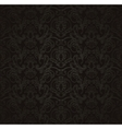 Black seamless wallpaper pattern vector