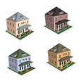Isometric house style 1 vector