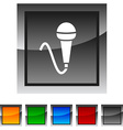 Mic icons vector