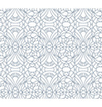 Seamless floral pattern composition of stylized vector