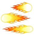 Firebals vector