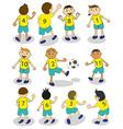 Football team vector