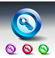 Key icon secure security web vector