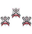 Baseball emblems vector