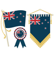 New zealand flags vector