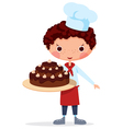 Scullion with cake vector