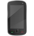 Black mobile phone eps10 vector