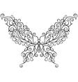 Art butterfly vector