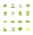 Ecology icons and environment icons vector