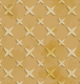 Brown recycling paper stars seamless pattern vector