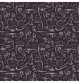 Pattern with rats vector