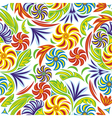 Floral pattern background vector
