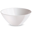 Bowl white vector