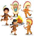 Indians vector