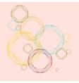 Color line circle design eps vector