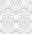Geometric repeatable pattern background design vector