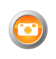 Camera button vector