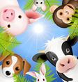 Curious animals vector