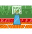 Basketball stadium vector