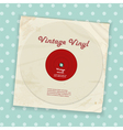 Vintage record and sleeve vector