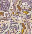 Floral geometrical pattern vector
